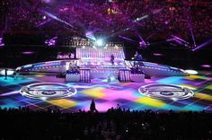 Madonna's Stage at the Super Bowl Halftime Show