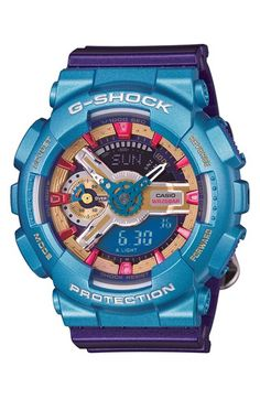 Shop Women's Casio Blue Purple size OS Watches at a discounted price at Poshmark. Description: Casio G-Shock Analog Digital Watch - Purple, Red, Blue NWT and box. Baby G Shock Watches, Casio G Shock Watches, Casio Watch, Cool Watches, Watches For Men, Women's Watches, Wrist Watches, Sport Watches, Jewelry Watches