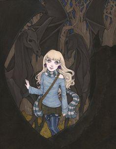 Luna by Jayne Steiger -I love Luna. Making Ravenclaw proud.