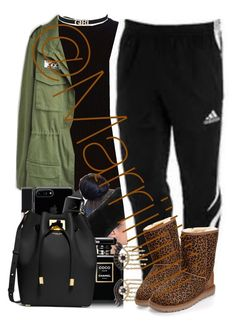 """Cute"" by marriiiiiiiii ❤ liked on Polyvore featuring rag & bone, Smashbox, Chanel, Michael Kors, adidas, Sydney Evan and UGG Australia"