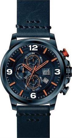 WN-631CC -Ανδρικό ρολόι Visetti Impresario Series Chronograph, Watches, Accessories, Clocks, Clock