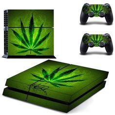 Marijuana Weed Cannabis Green Leaf PS4 Console Controllers Skin Decals #Marijuana #Weed #Cannabis #Green #Leaf #PS4 #Console #Controllers #Skin #Decals