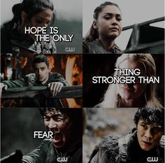 The 100 - Bellamy Blake, Reven Reyes, Clarke Griffin, Octavia Blake, Monty The 100 Cast, The 100 Show, Clarke E Lexa, The 100 Grounders, The 100 Quotes, The 100 Characters, Lexa The 100, Fantasy Tv, Cw Series