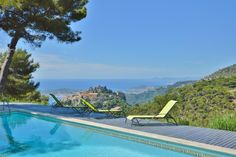 Eze, Cap Ferrat and the sea, do you want more? - http://www.aiximmo.ch/property/eze-cap-ferrat-and-the-sea-do-you-want-more/- The Villa is located in the hills above Eze, in a quiet and residential area.  Beautiful villa with a total living space of about 160 sqm, built on a plot of 4089 sqm with possibility to increase. A volume of about 70 sqm already exists and a permission for a second