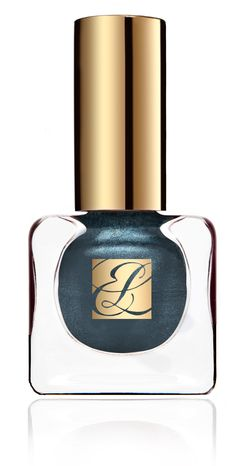 Estee Lauder Nail Lacquer in Midnight Metal