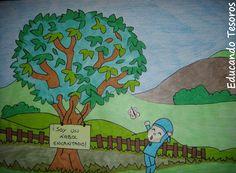 Educando Tesoros: Cuento el Árbol Mágico