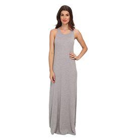 Splendid Column Midi Dress Heather Grey - 6pm.com