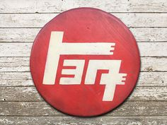 Toyota TEQ Distressed Round Sign by WickedWheeler on Etsy