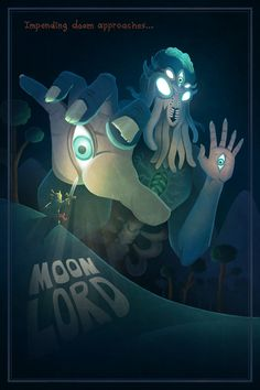 New Terraria Moon Lord Poster…