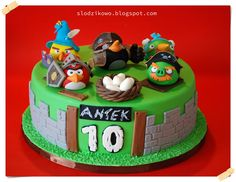 angry birds epic cake