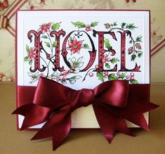 NOEL by havonfamily - Cards and Paper Crafts at Splitcoaststampers