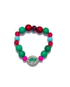 Jewels By Dunn Turquoise Eye Bracelet – Love & Pieces | Designer Online Jewelry Boutique