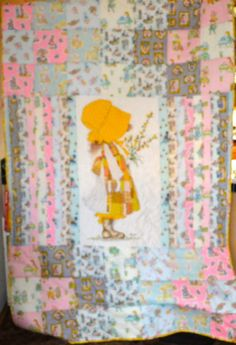 Quilt for C.J. a dispatcher out of Davis, CA who is taking care of 2 young nieces due to their mom's auto accident. Thanks so much Joanne H. for making the top and back, all I had to do was the quilting and binding!