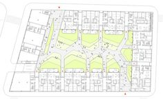 Image 6 of 10 from gallery of Vivazz, Mieres Social Housing / Zigzag Arquitectura. Architecture Drawings, Architecture Plan, Residential Architecture, Architecture Details, Landscape Architecture, Social Housing Architecture, Parque Linear, Urban Rooms, Co Housing