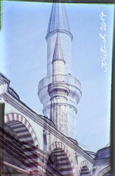 Moscheen-Doppelbelichtung