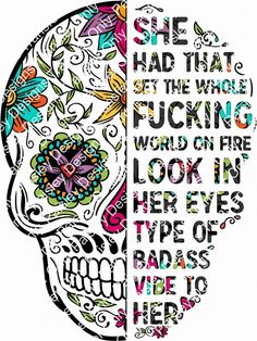 Sugar Skull Wallpaper, Sugar Skull Artwork, Sugar Skulls, Sugar Skull Drawings, Candy Skulls, Skull Tattoos, Tatoos, Badass Quotes, Order Prints