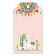 Shop Llama thank you tags Fiesta Cactus Alpaca Mexican created by Anietillustration. Beach Party Games, Dinner Party Games, Princess Party Games, Graduation Party Games, Llama Birthday, Alpaca, Custom Ribbon, Personalized Gift Tags, Thank You Tags