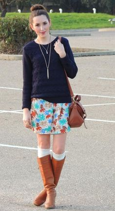 Fall Style. i want more sweaters like that.