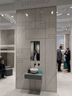 Showroom Ideas, Stand Design, Marble, Granite, Marbles, Booth Design