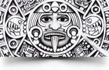 calendar tat Aztec calendar Tattoo