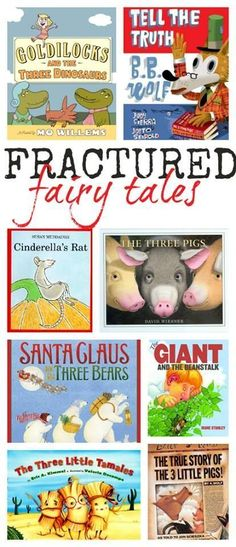 Fractured fairy tale to read and contrast with the traditional versions.