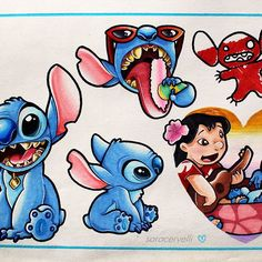 Awesome Lilo and Stitch page by @saracervelli using their Chameleon Pens! #liloandstitch #fanart #disney #drawing #illustration #tattoodesign #tattoo #designs #colour #color #colouring #coloring #pen #marker #alcoholmarkers #chameleonpens