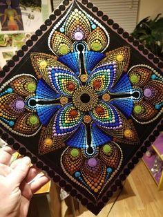 Mandala Canvas, Mandala Artwork, Mandala Painting, Mandala Painted Rocks, Mandala Rocks, Seashell Painting, Dot Art Painting, Mandala Pattern, Mandala Design