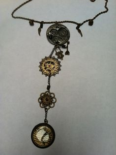 steampunk jewellery - finished product no.2  www.inc-inc.co.uk