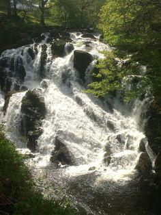 Swallow Falls, Wales
