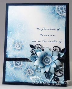 Blue Sunflowers   Kathy Roney