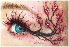 Cherry Blossoms - 16 Spectacular Eye Art Arrangements