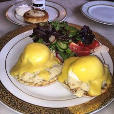 eggs benedict  breakfast