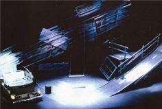 Ready for the River. Cricket Theatre. Scenic design by Robert Klingelhoefer. 1991
