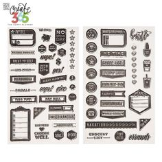 Get Create 365 Happy Planner Everyday Clear Stamps online or find other Create 365 - The Happy Planner products from HobbyLobby.com
