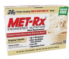 MET-Rx Original Meal Replacement Original Vanilla, 40 count (2.54 ounce packets) - http://alternative-health.kindle-free-books.com/met-rx-original-meal-replacement-original-vanilla-40-count-2-54-ounce-packets/
