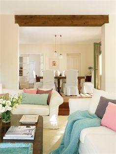 Una casa andaluza en blanco y verde · ElMueble.com · Casas