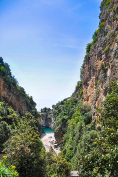 Atrakcje Włoch - Fiordo di Furore