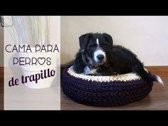 Cama para perro de trapillo paso a paso - YouTube