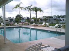 Port St Lucie RV Resort at Port St Lucie, Florida
