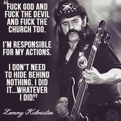 The Tao of Lemmy: 18 Great Quotes From the Motorhead Frontman