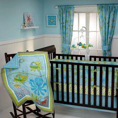 Ocean Dreams - 4pc Crib Bedding Set