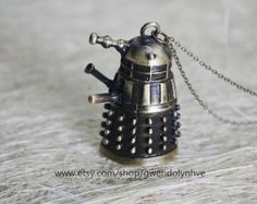 Time Lord Dalek inspired Doctor Who jewelry