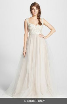 Naeem+Khan+'Verona'+Tulle+Ballgown+(In+Stores+Only)+available+at+#Nordstrom