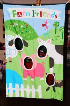 """photo """"booth"""" idea - barnyard"""