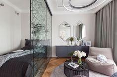 Удобная современная квартира для молодой девушки в центре Санкт-Петербурга (48 кв. м)   Пуфик - блог о дизайне интерьера
