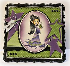 Elf Queen [KKMC102] - $7.00 : Whimsy Stamps