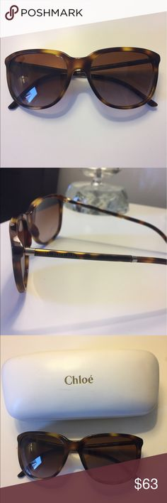 Burberry Sunglasses Burberry sunglasses with Chloe case (purchased from Nordstrom Rack) Burberry Accessories Sunglasses