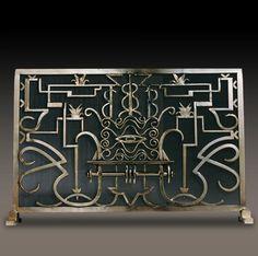 hand forged fireplace screens   Kramer Design Studio :: Custom Design And Fabrication Of Fine ...