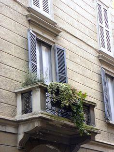 Milaan - Balkon