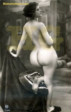 Vintage big ass naked — photo 12